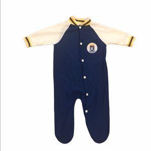 Vintage newborn Kansas City Royals sleeper